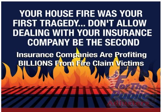 Fire Insurance Claims Calulation Fire Fire Damage Insurance Claim