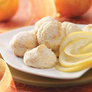 Soft Lemonade Cookies Recipe from Taste of Home -- shared by Margo Neuhauser of Bakersfield, California