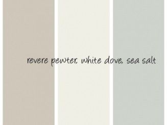 colors that go with revere pewter benjamin moore - Google Search