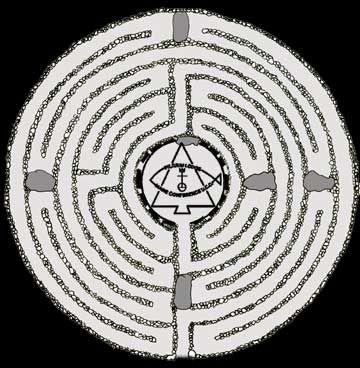 Labyrinth   The Pilgrim Lodge Labyrinth