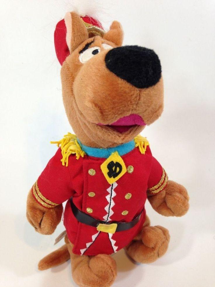 "Warner Bros. Scooby Doo Band Leader Conductor Bean Bag Plush Doll Toy 10""  | eBay"