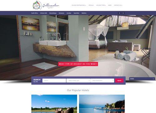 New website designed for Gallivanter Holidays