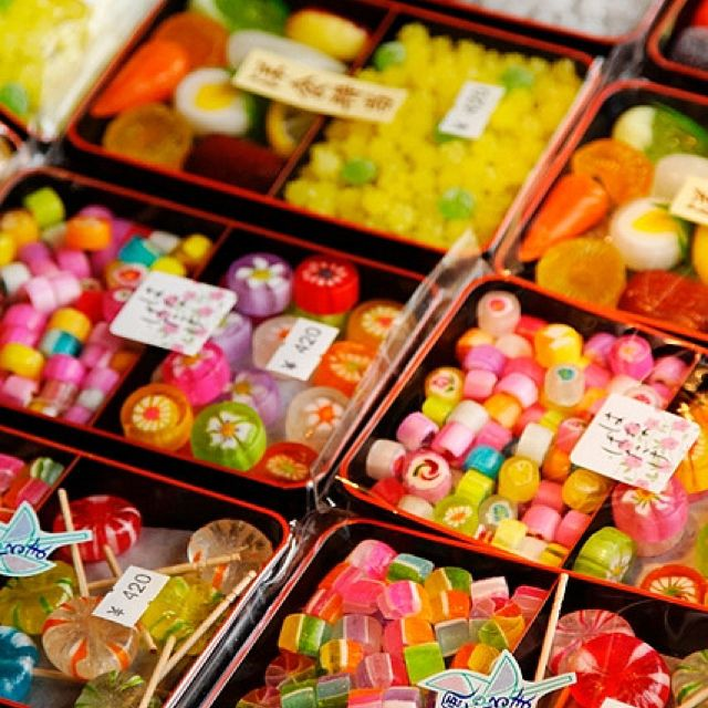 Traditional Japanese Hard Candies