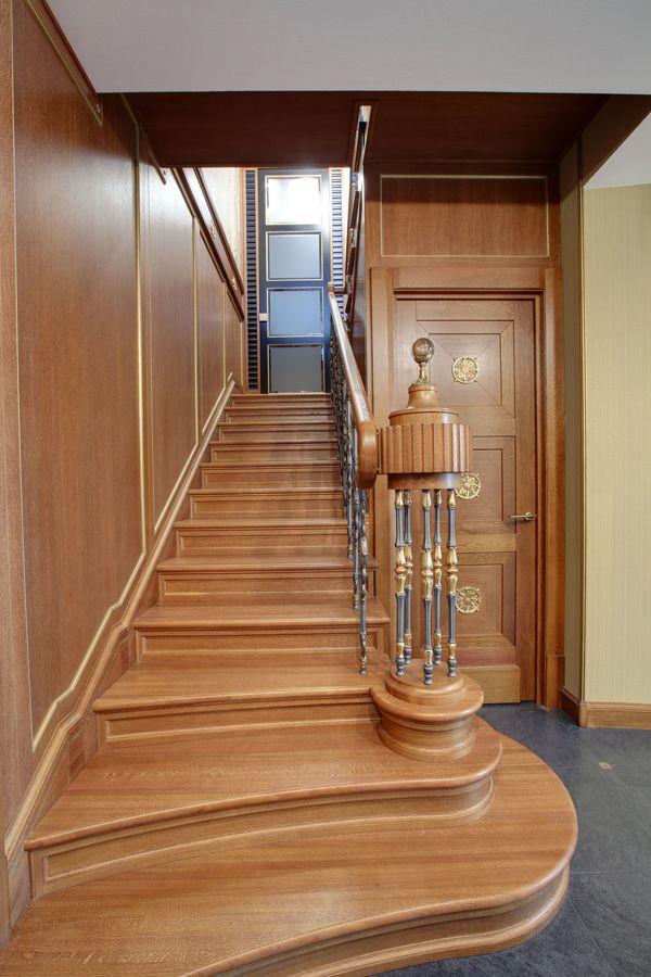 Деревянные лестницы в СПб, изготовление деревянных лестниц на заказ - Двери, лестницы из массива, мебель
