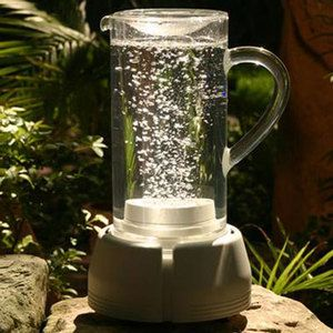 The Big Pitcher, purifies water with bubbles