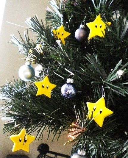 Invincibility Star Ornament Set - in felt?
