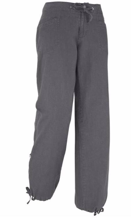 Naisten housut kiipeilyyn ja kesän arkikäyttöön.