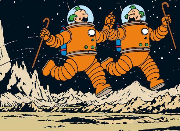 Les Aventures de Tintin - Le professeur Tournesol