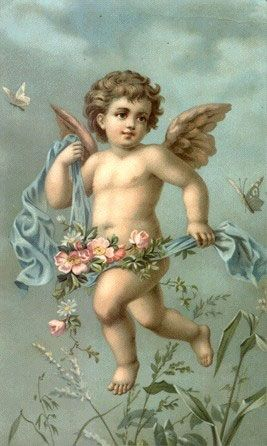 """""""victorian valentine cupid"""" 
