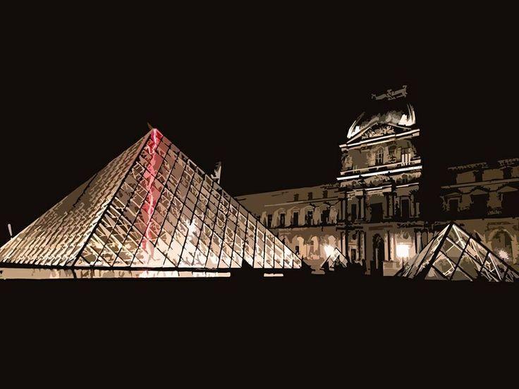 The Louvre Museum, Paris. France