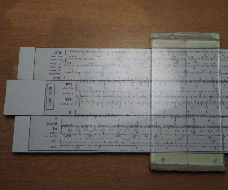 Custom Slide Rule DIY