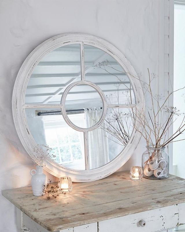 Like So Many Of Our Decor Choices The Character Of A Mirror Can Change The Energy And Character Of A Room But Becaus Wall Mirrors Uk Window Mirror Loft Style