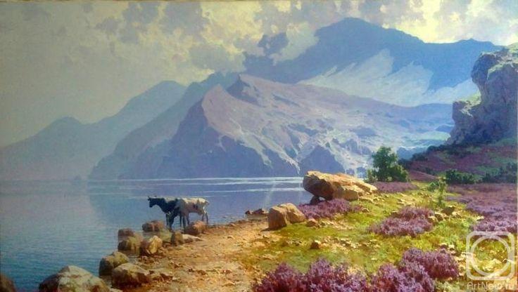 Fyodorov Michail. Heath blossoms