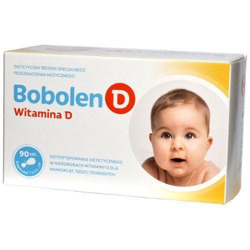 Bobolen Vitamin D x 30 capsules twist-off