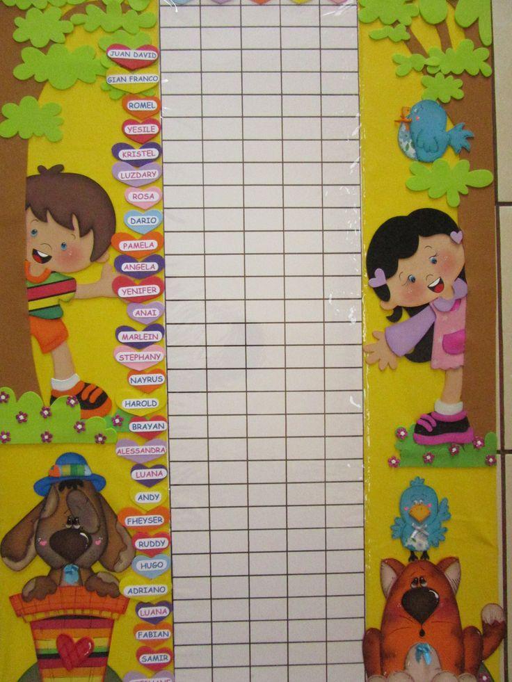 M s de 1000 ideas sobre calendario jard n de infantes en for Cancion para saludar al jardin de infantes