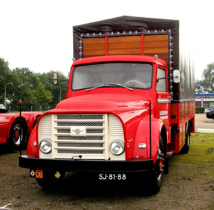 1960 - DAF Torpedo truck