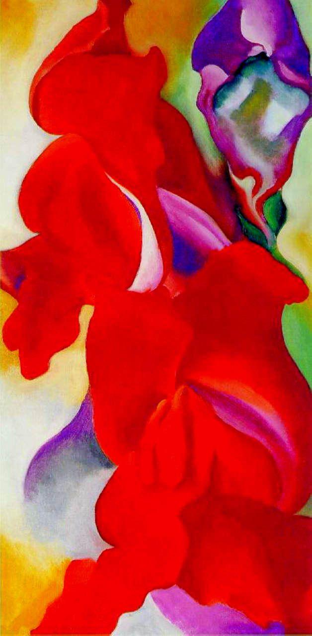 Georgia+O+Keeffe+Untitled+Flower+431+1923.jpg 628×1,280 pixels
