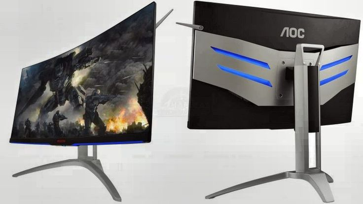 AOC Monitor: features an 1800R curved panel and QHD resolution.  AOC Monitor: features an 1800R curved panel and QHD resolution.  In this first monitor AOC presents / displays an curved panel 1800R (same happens in the second one) with a diagonal of 31,5 inches and a resolution QHD of 2560 x 1440 pixels...  #AocMonitor #MonitorPc #Monitor #Abantech #AOCWQHDQ2577PWQ #AOC #ageofconan #AFC #conan #PremierLeague #MNF #EPL #COYG #BPL #Monitor