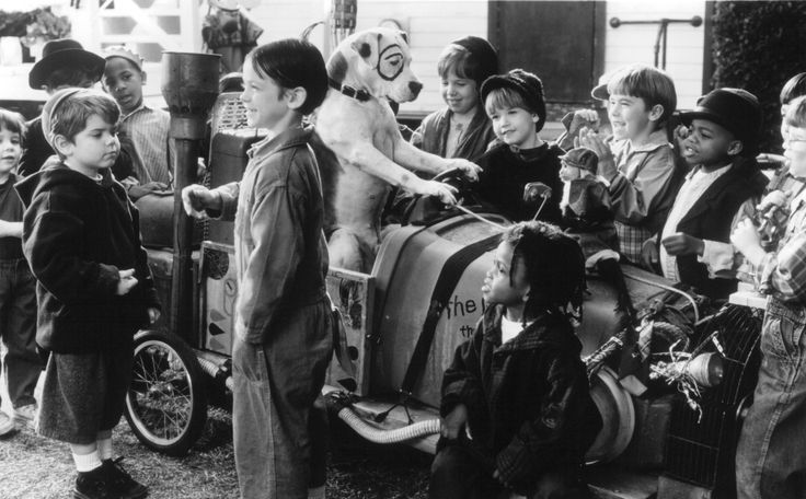 Still of Ross Bagley, Bug Hall, Travis Tedford and Kevin Jamal Woods in The Little Rascals (1994) http://www.movpins.com/dHQwMTEwMzY2/the-little-rascals-(1994)/still-2067566080