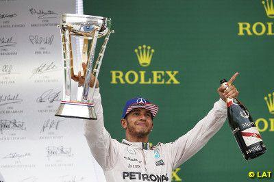 Paul English Formula 1: Hamilton wins to take third world title