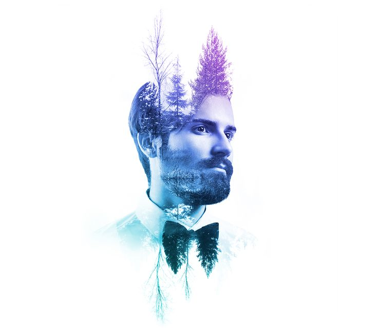 History of double exposure & how to create your own XX portrait.