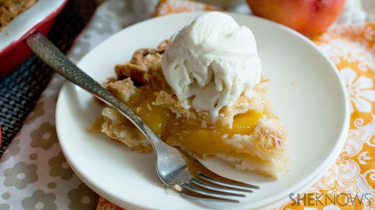 Delicious nectarine pie for a sweet treat this season