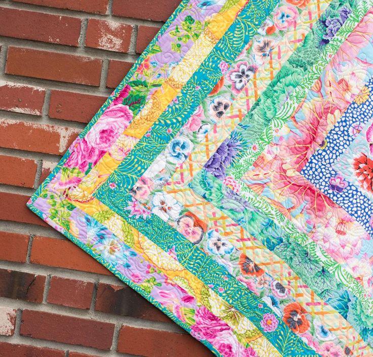 889 Best Quilts Kaffe Fassett Images On Pinterest
