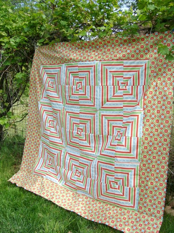 27 best Quilts with Striped Fabric images on Pinterest | Craft ... : striped fabric quilt patterns - Adamdwight.com