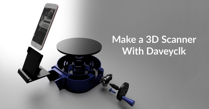 If you're looking to make your own DIY 3D Scanner, check this out! You can create your own DIY 3D Scanner for $30 with this simple tutorial