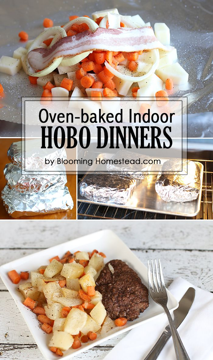 These indoor hobo dinners are perfect for a fun family night, or just if you love this summer staple but don't have a fire handy!