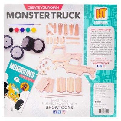 Howtoons Monster Truck, Chemistry Kits