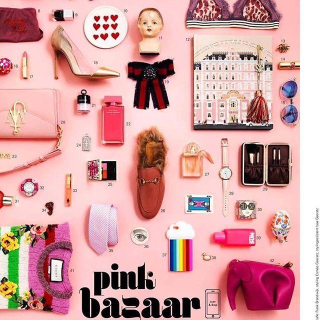 'Fashion Shopping' in andC Magazine Photography by Frank Brandwijk Styling by Esmee Gerantz & ChantalJanzen.official I 'Pink Bazaar' 'Fashion Collage' 'Photography Stilllife' 'New Magazine' 'Instore Now' 'On Pink'
