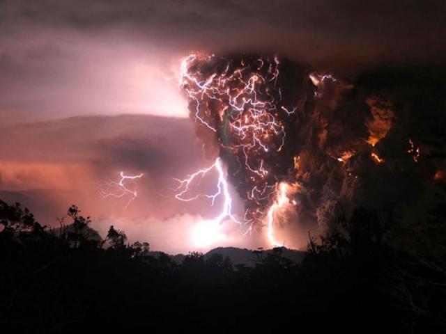 Chile, Volcan Chaiten