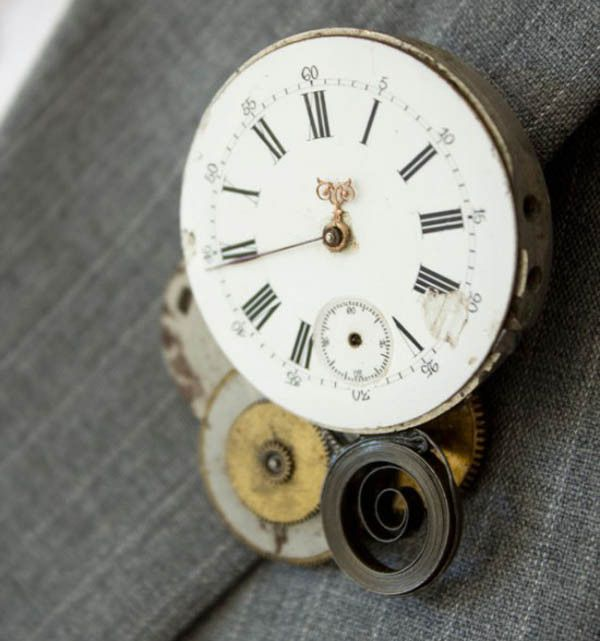 steampunk buttonhole diy