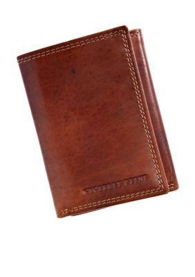 Geoffrey Beene Tan Durham Trifold Wallet