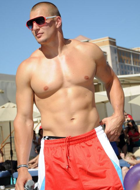 Rob Gronkowski | Rob Gronkowski Hosts Topless Pool Party | Photo 2 | TMZ.com