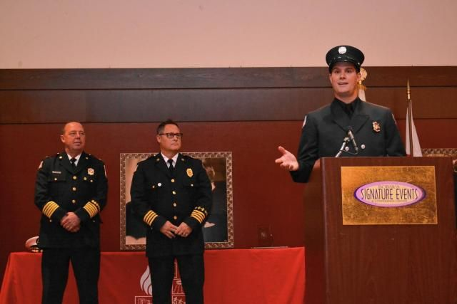Deerfield firefighter honored for focus on individuals with disabilities
