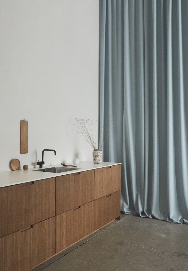 Ikea Upgrade Stylish Sustainable Bamboo Cabinet Fronts