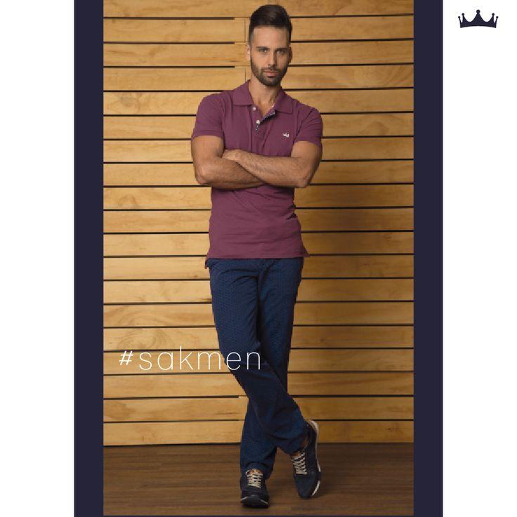 Conoces las nuevas polos SAK en muchos colores perfectos para combinar y perfectos para el día y la noche. #sakdenim #poloshirt #casuallook #jeans #jeanswear #denimfordays #guys #fashion #clothingbrand #moda #camisas #polos #musthave #essentials #look #tendencia
