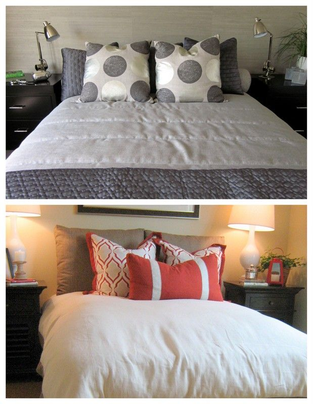 7 Ways To Arrange Bed Pillows What s up, Home and Unique home decor