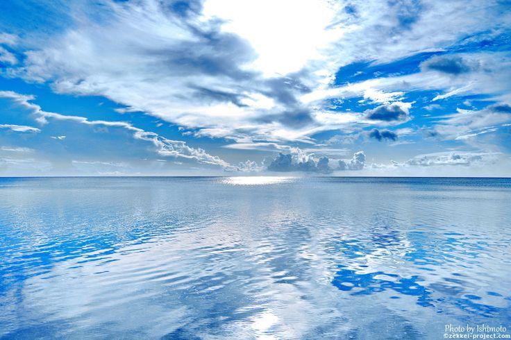 空と海に溶け合うように・サイパン(マイクロビーチ)