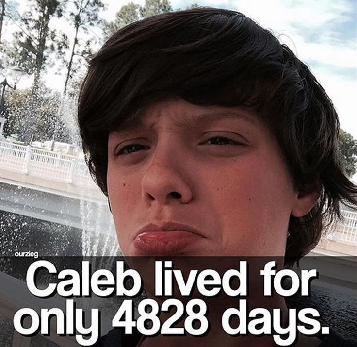 Dont tell me this was true :( R.I.P Caleb Logan Leblanc
