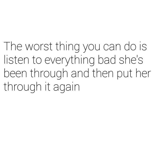 don't put her through hell