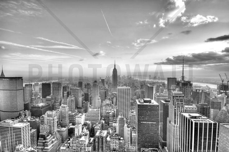 New York City 2 - b/w - Fotobehang & Behang - Photowall