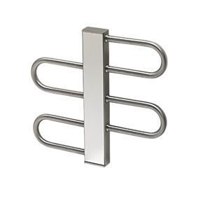 Order online at Screwfix.com. Stylish towel radiator with high quality polished stainless steel finish. EN 442. FREE next day delivery available, free collection in 5 minutes.