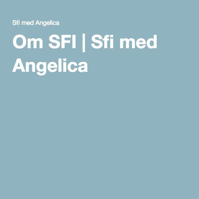 Sfi med Angelica - många matnyttiga länkar.