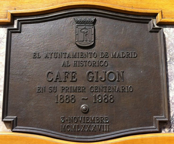Publicamos legendario Café Gijón en Madrid.  #historia #turismo http://www.rutasconhistoria.es/loc/cafe-gijon-madrid