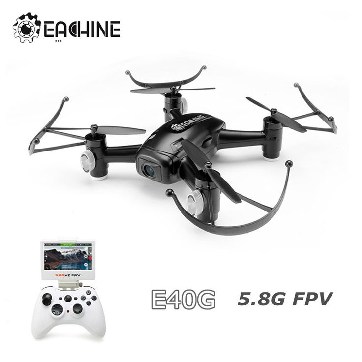 Eachine E40G 5.8G FPV With 720P Wide Angle HD Camera 2.4G 4CH 6Axis RC Quadcopter RTF Sale - Banggood.com