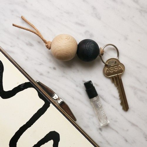 """Lolo"" keychain from Swedish Winterbird Co, via DIY or Die. Methinks this product is an easy DIY project."