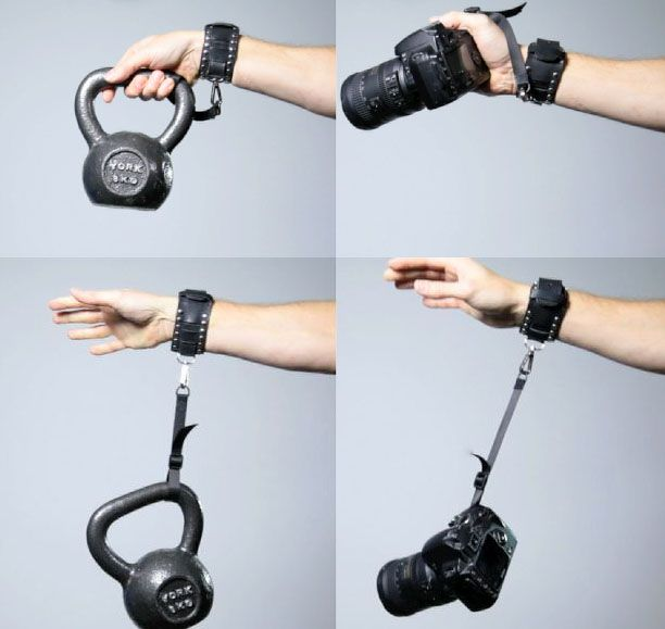 CamCuff is Half Fashion Accessory For You, Half Safety Strap for Your Camera